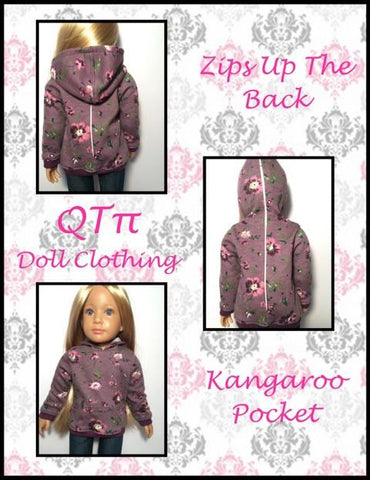 All Zipped Up Hoodie for Kidz N Cats Dolls