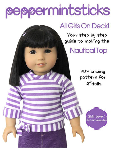 "All Girls On Deck 18"" Doll Clothes"