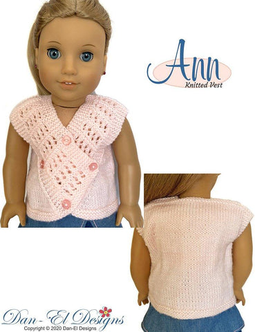 "Ann 18"" Doll Knitting Pattern"