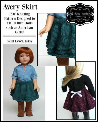 Avery Skirt Knitting Pattern