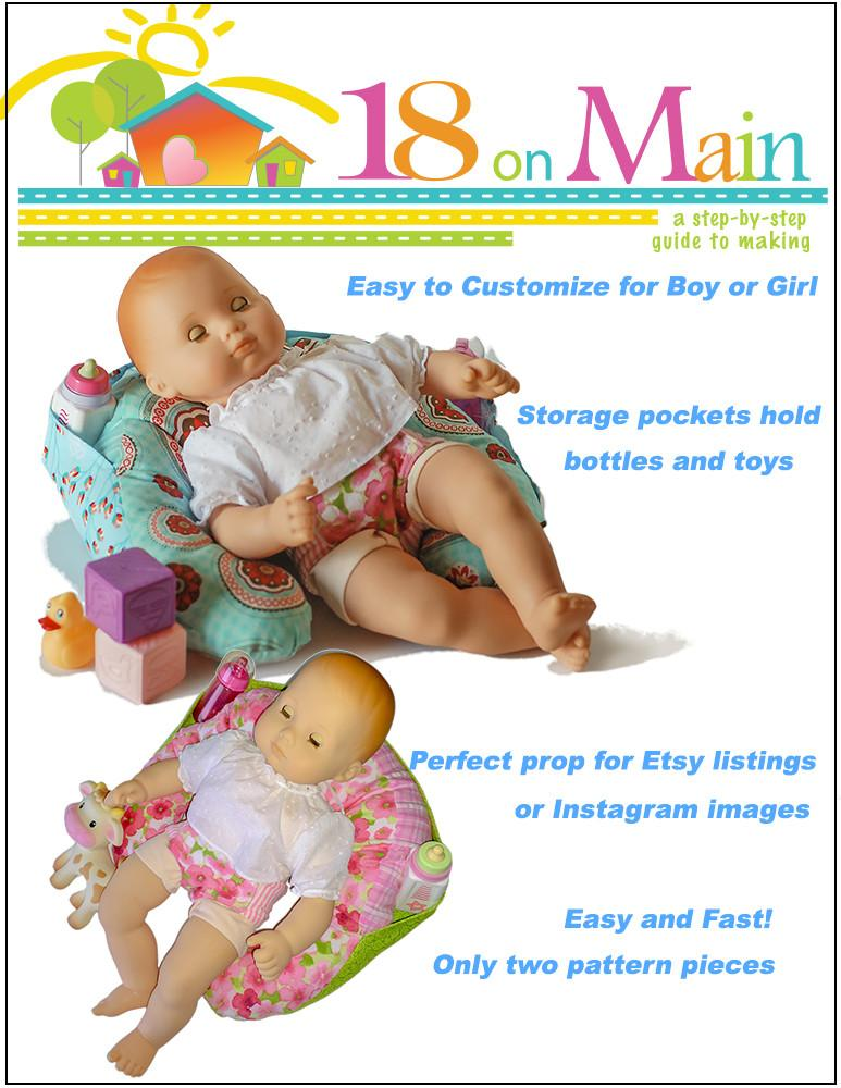 18 On Main My Baby Sitter Doll Clothes Pattern 15 inch ...