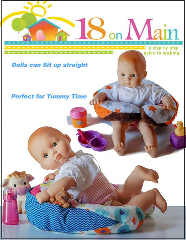 "My Baby Sitter 15"" Doll Accessory Pattern"