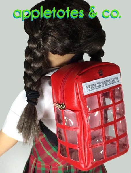 Appletotes Amp Co London Calling Backpack Doll Accessory