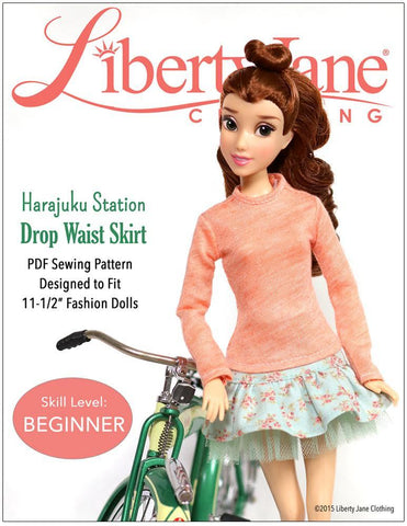 "Harajuku Station Skirt for 11 1/2"" Fashion Dolls"