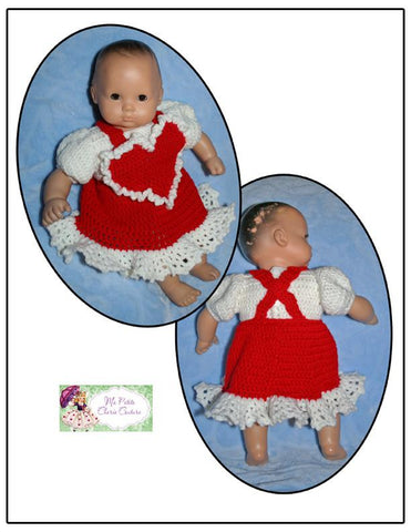 Mon Petite Cherie Couture Bitty Baby/Twin Be Mine Crochet Pattern Pixie Faire