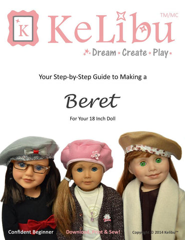 "Beret 18"" Doll Clothes"