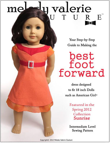 "Melody Valerie Couture 18 Inch Modern Best Foot Forward 18"" Doll Clothes Pixie Faire"