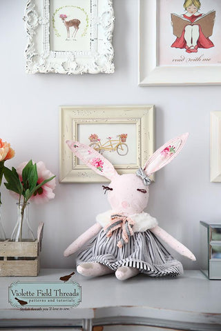 "Blushing Bunny 18"" Animal Doll"