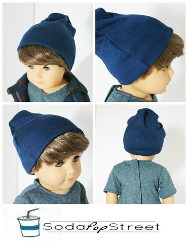 "Boys Tee and Beanie 18"" Doll Clothes"