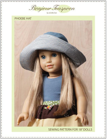 Bonjour Teaspoon Phoebe Hat For Dolls