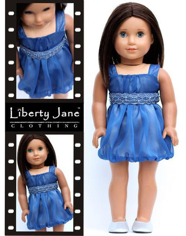 Liberty Jane dress pattern for American Girl Dolls