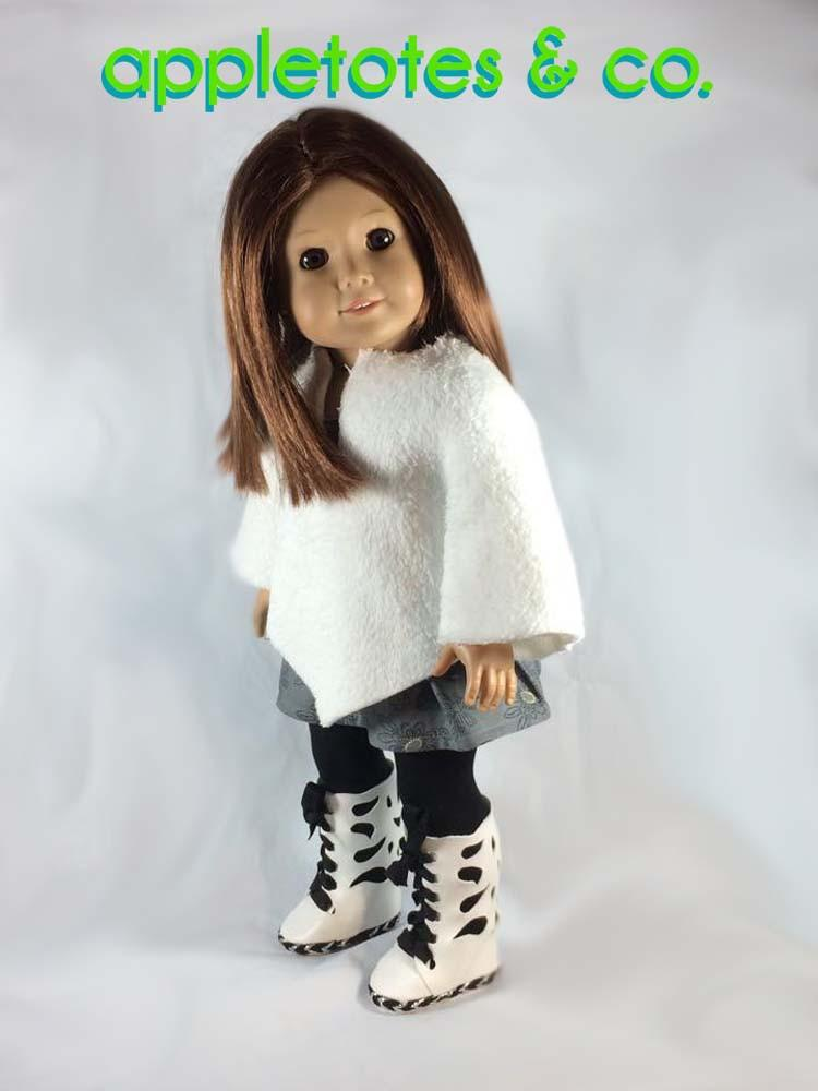 Appletotes Amp Co Butterfly Boots Doll Shoe Pattern 18 Inch