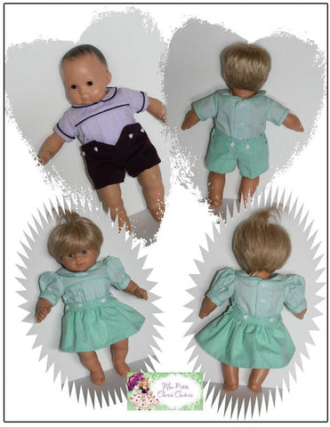 "Button Up Beauties 15"" Baby Doll Clothes"