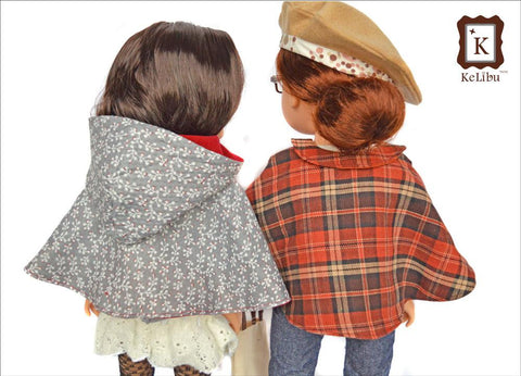 Weekend in Paris Capelet for Journey Girls Dolls