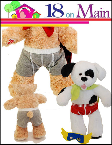 Captain Underwear Pattern for Build-A-Bear Dolls