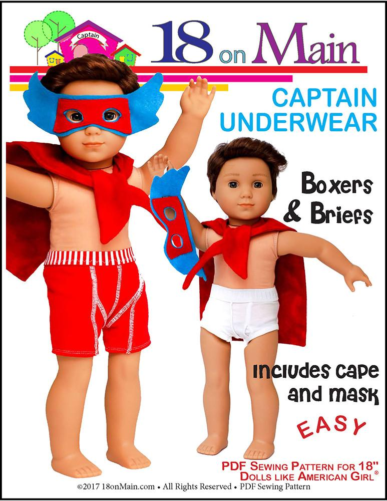 Mulberry Street Gotchies Doll Clothes Pattern Inch Dolls Such - Free invoice templates pdf american girl doll store online