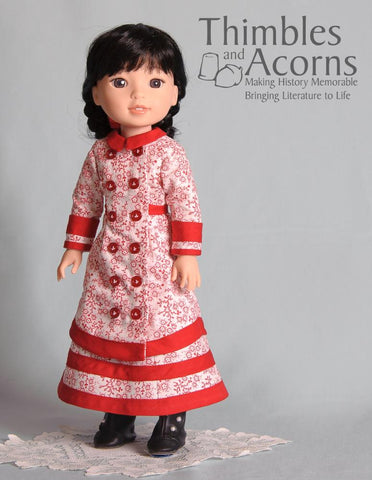 "Carrie 14.5"" Doll Clothes Pattern"