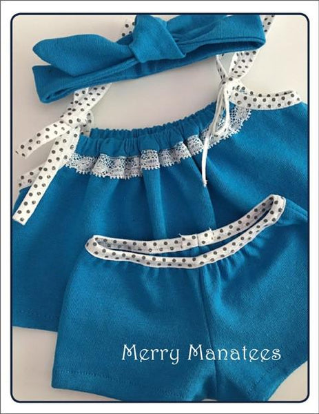 Merry Manatees Catching Z S Doll Clothes Pattern 18 Inch