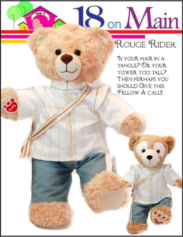 Bear E. Charming Prince Pattern for Build-A-Bear Dolls