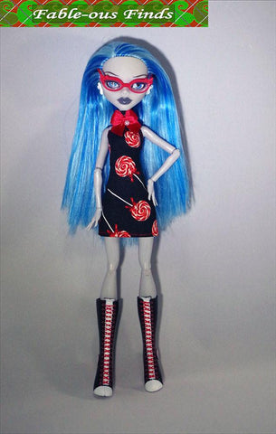 Fable-ous Finds Monster High Burst into Tiers Dress Pattern for Monster High Dolls Pixie Faire