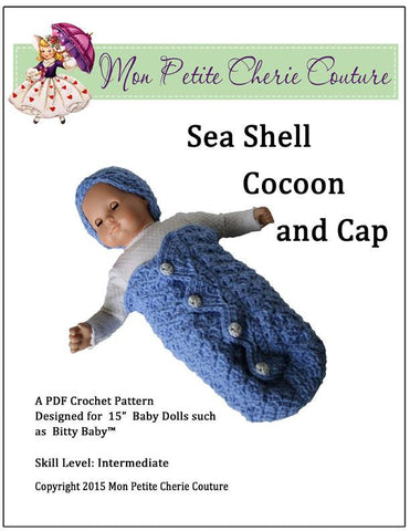 Sea Shell Cocoon Crochet Pattern