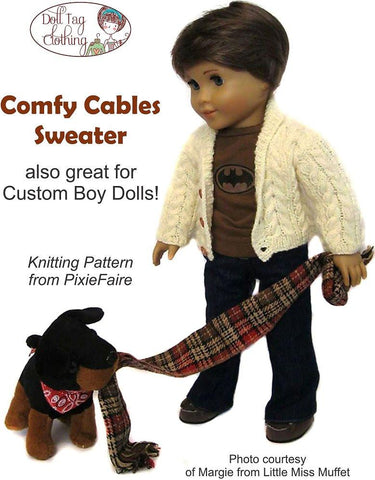 Comfy Cables Knitting Pattern