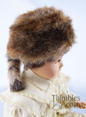 "Coonskin Cap 18"" Doll Accessories"