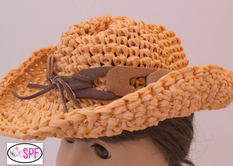 Straw Cowboy Hat Crochet Pattern