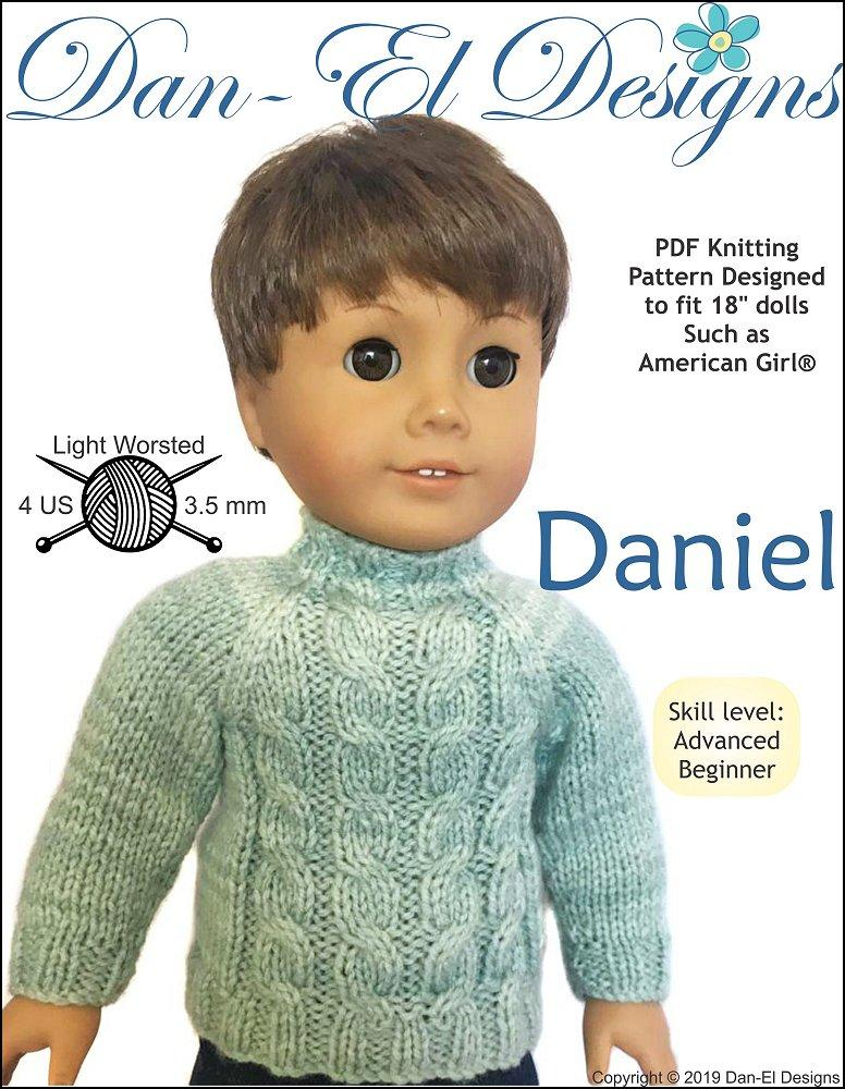 Dan-El Designs Daniel Doll Clothes Knitting Pattern 18 ...