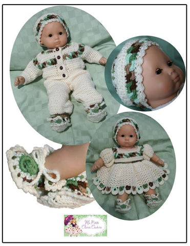 Dolly Rings Booties and Cap Crotchet Pattern