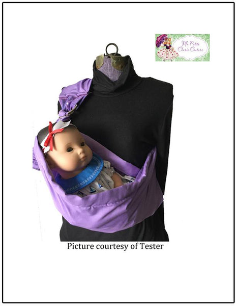 Mon Petite Cherie Couture Dolly Sling Doll Clothes Pattern ...