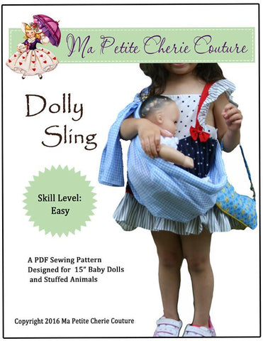 "Dolly Sling 15"" Doll Accessories"