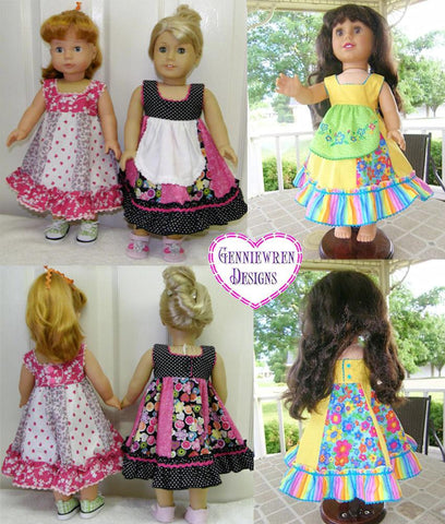 "Dora Dress 18"" Doll Clothes"