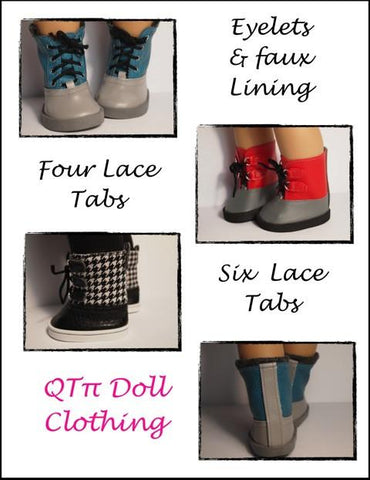 "Dorel Boots 18"" Doll Shoes"