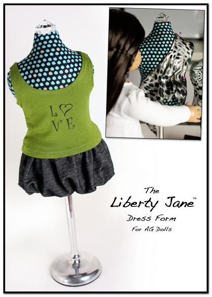 Dress Form For 18 Inch Doll Clothes Pattern Pdf Download