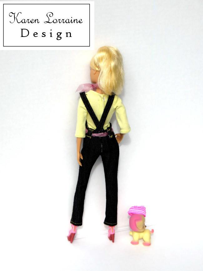 Dress It Up Dungarees Pattern 11 12 Inch Fashion Dolls Such As