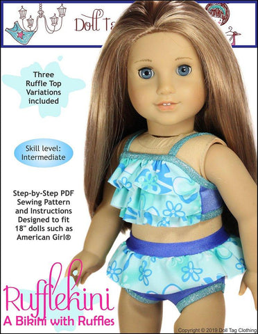 a353390624 18 Inch Doll Swim & Dance Patterns | Pixie Faire