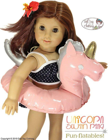 "Fun-flatable Unicorn 15"" - 18"" Doll Accessories"