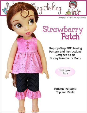 Strawberry Patch for Disney Animator Dolls
