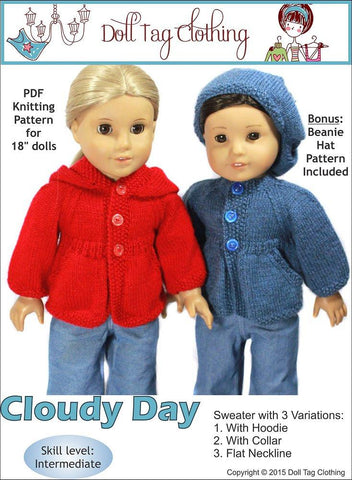 Cloudy Day Knitting Pattern
