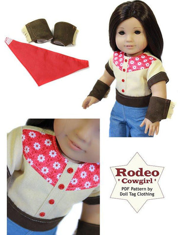 "Rodeo Cowgirl 18"" Doll Clothes"