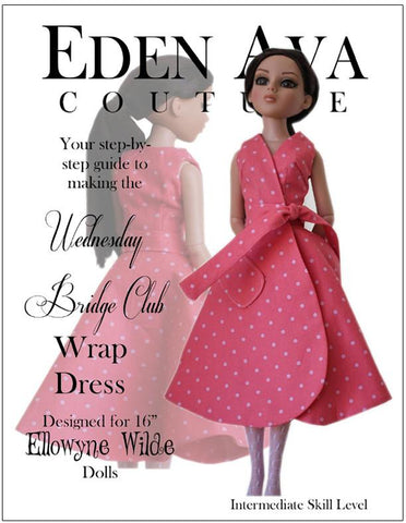 Bridge Club Dress for Ellowyne Dolls