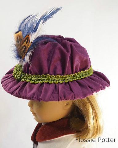 "Edwardian Girl's Hat 18"" Doll Accessories"
