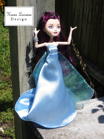 Elegant Pattern for Monster High Dolls