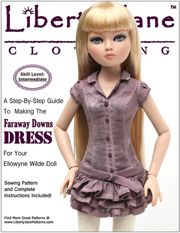 Faraway Downs Dress for Ellowyne Dolls