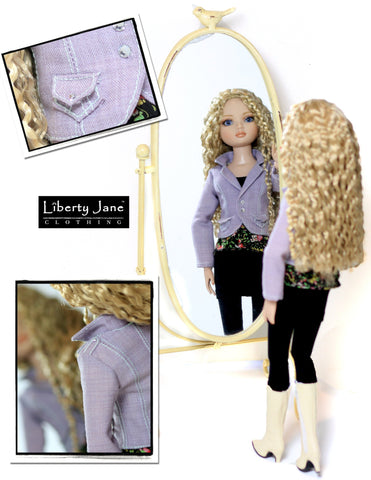 Liberty Jane Ellowyne Sofia Outfit Pattern for Ellowyne Dolls Pixie Faire