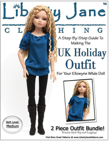 U.K. Holiday Outfit for Ellowyne