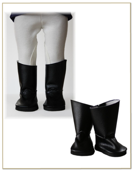 Equestrian Riding Boots 18 Inch Doll Shoes Pattern Pdf