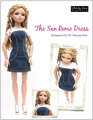San Remo Dress for Ellowyne Dolls