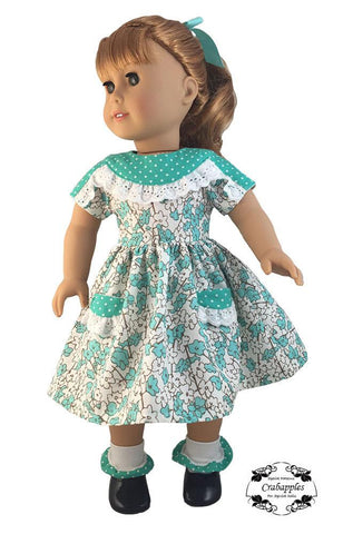 "Fifties Favorite 18"" Doll Clothes Pattern"